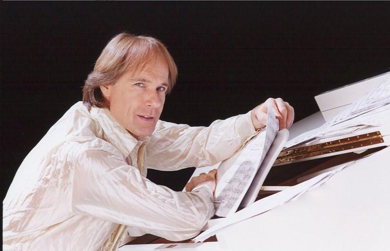 Richard Clayderman -piano sheet big piano