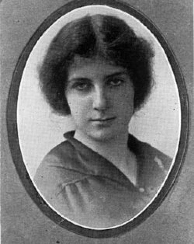 Golda Meir young