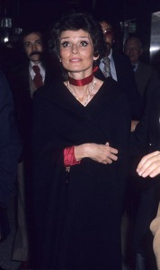 Audrey Hepburn - File Photos 1980s